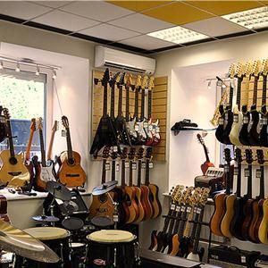 Музыкальные магазины Туринской Слободы